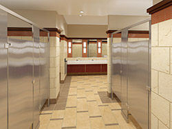 Garrison Architects - Rosedale Mall Bathrooms